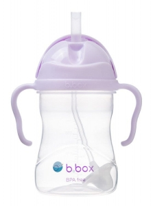 b.box Bidon ze słomką 240 ml Gelato Boysenberry