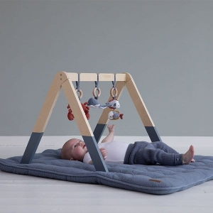 Little Dutch BabyGym pałąk interaktywny Ocean Błękit LD4834